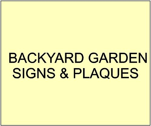 6. - GA16700 - Small Garden, Flower and Plant  Name Signs for Residential and Commercial Gardens