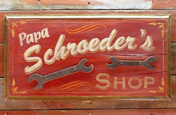 Papa Schroeder's Shop