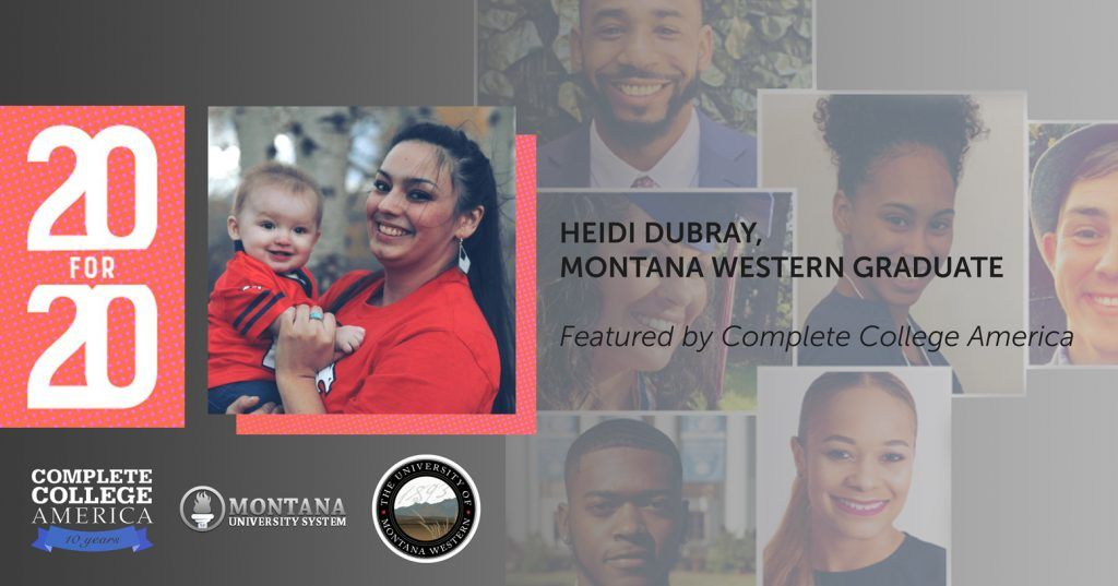 Montana Western Graduate Featured by Complete College America