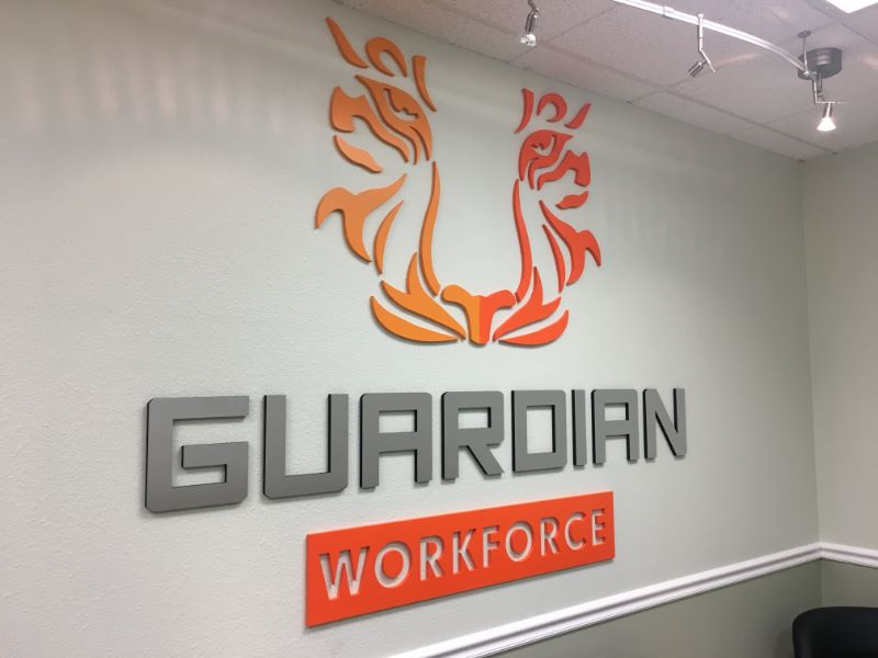 Office lobby signs | 3D wall logo signs | Buena Park, Orange County