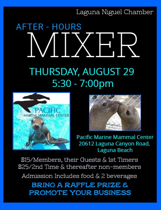 After-Hours Mixer - Pacific Marine Mammal Center