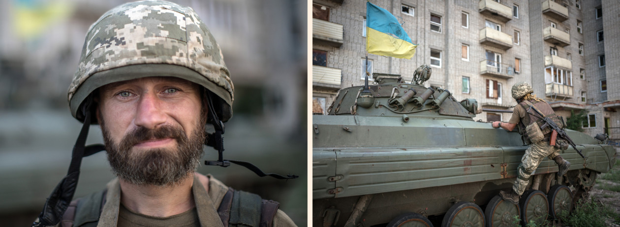 Ukraine: On the front line of Europe's forgotten war