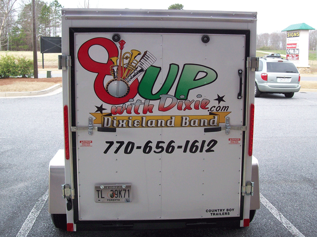8 Up Trailer