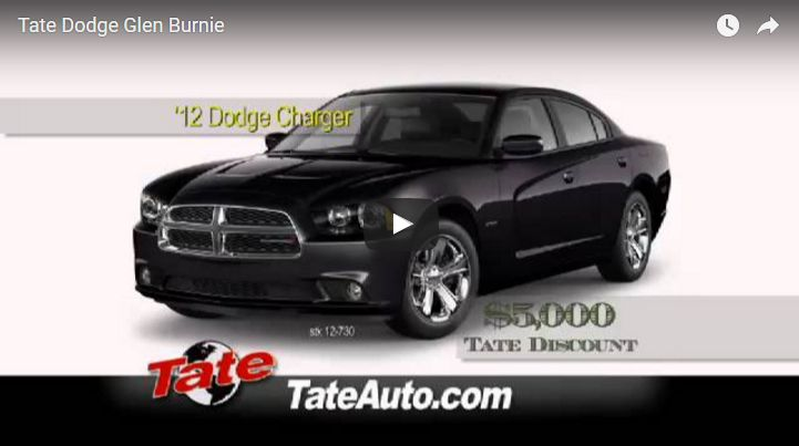 Tate Dodge Glen Burnie: Video