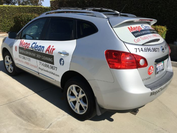 Affordable vehicle graphics in Fullerton CA