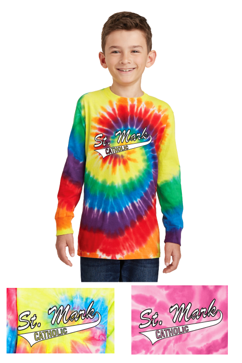 St. Mark Tie Dye - Long-sleeve Tee