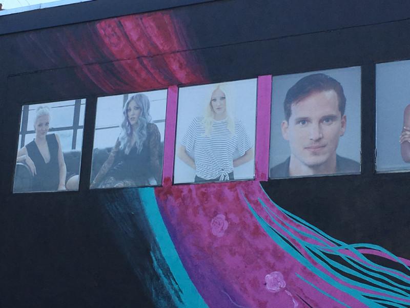 Perforated See-Through Vinyl Window Graphics | Orange County CA