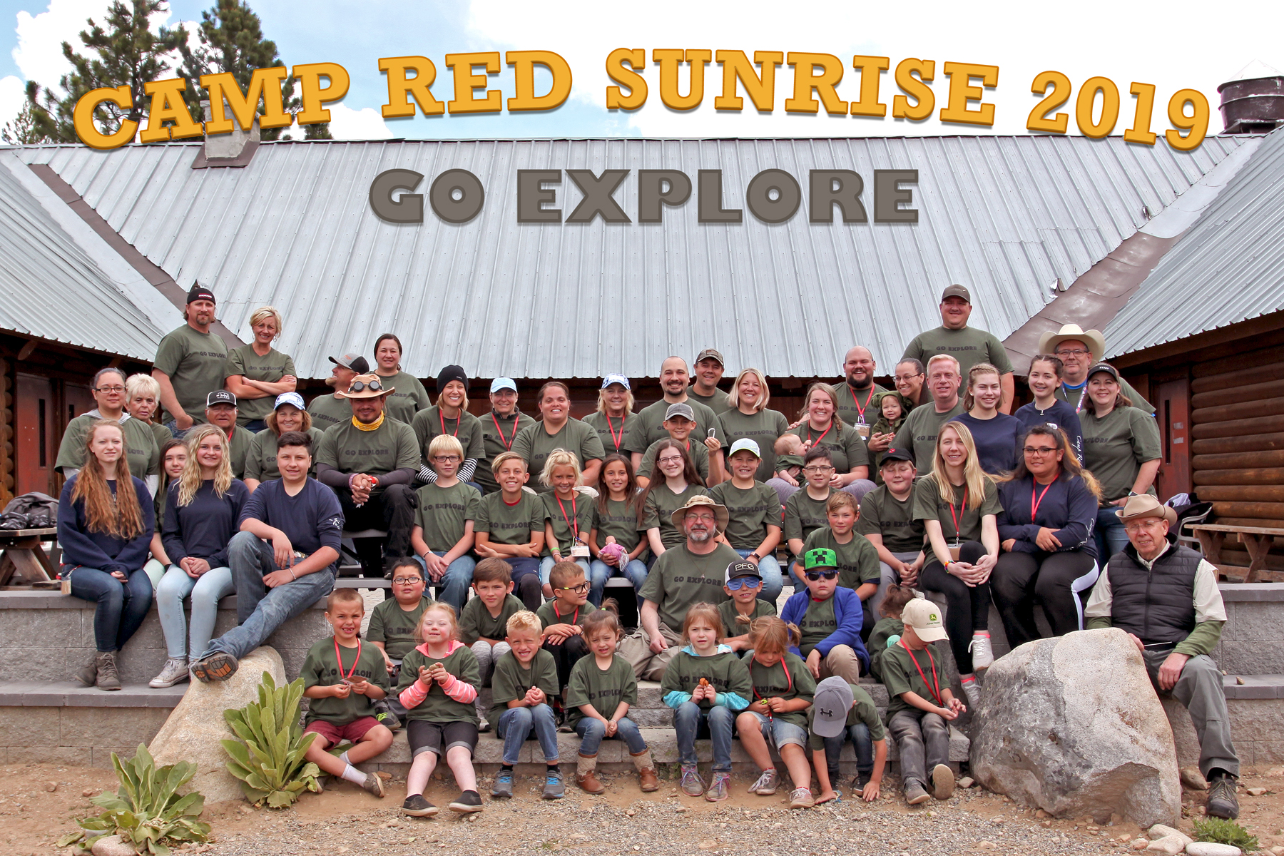 Camp Red Sunrise: Family Camp