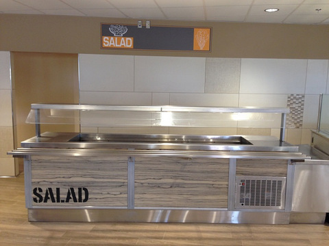 Salad bar signs Orange County