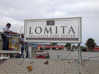 exterior sign refurbishing Orange County CA