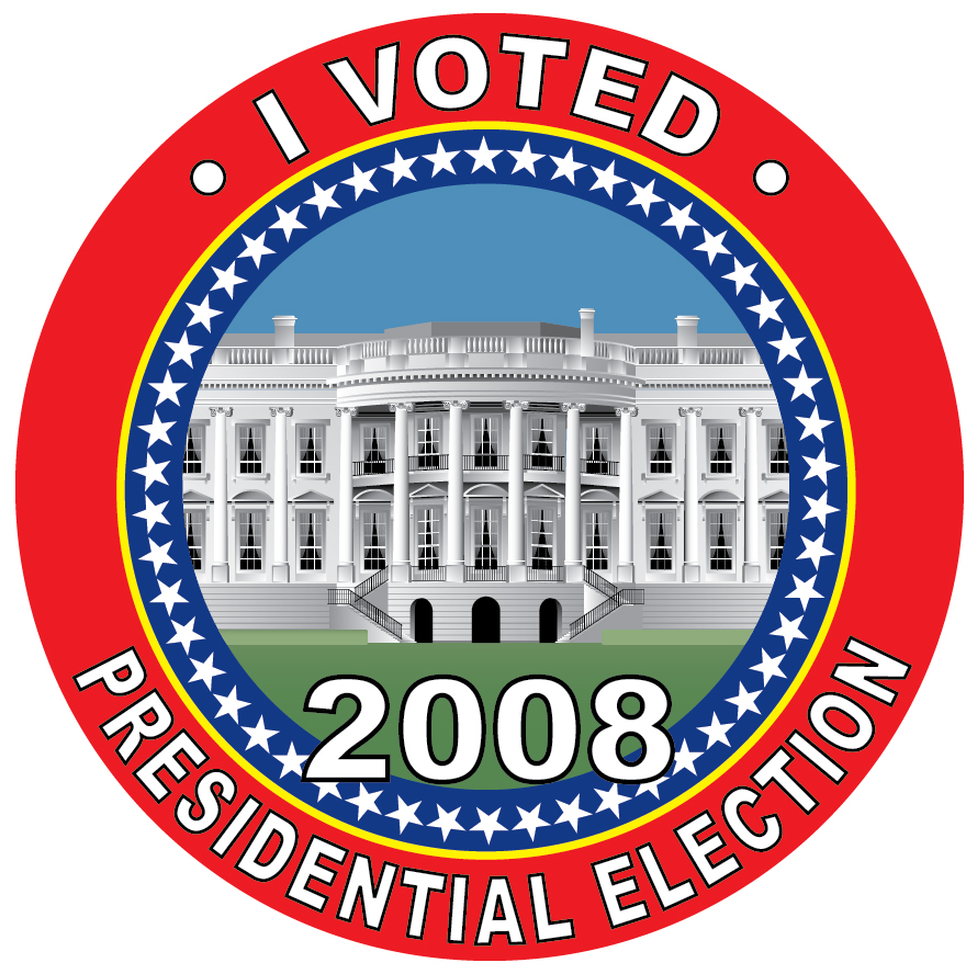 Specialized Voter Stickers