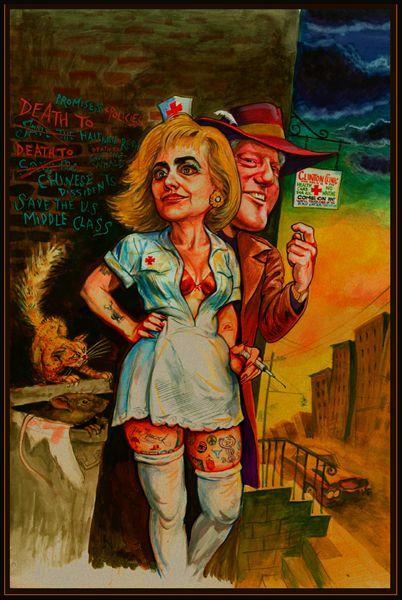 "Third Place - ""Clinton's Clinic"""