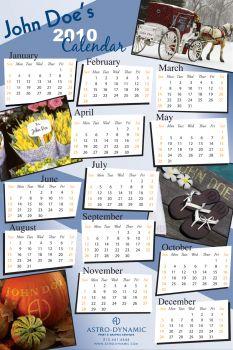 Variable Data Calendar