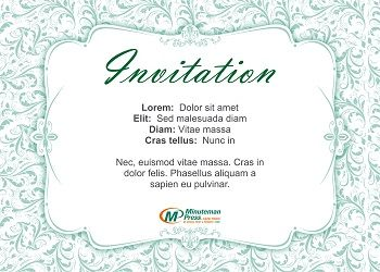 Invitations Quote
