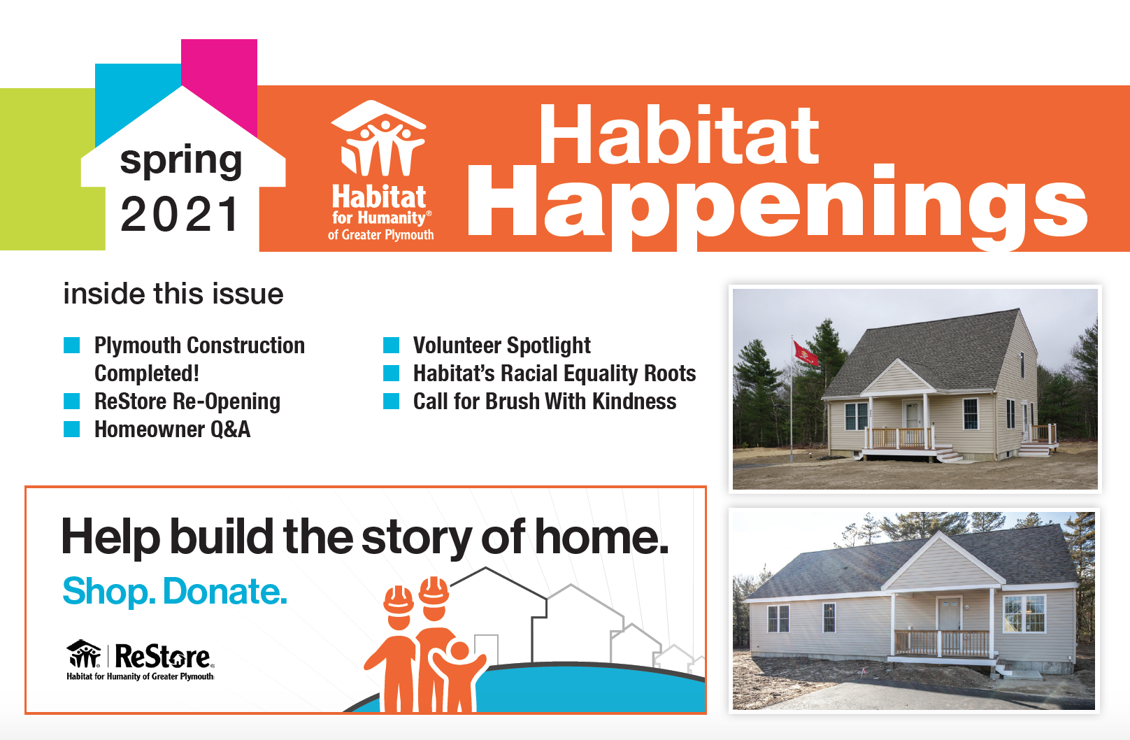 Spring 2021 Habitat Happenings is hot off the press!