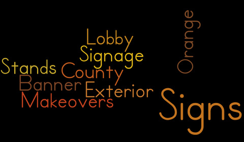 Interior and Exterior Signage Makeovers Orange County