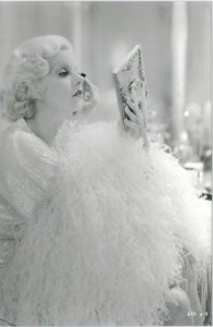 Jean Harlow, Dinner at Eight (Detail)