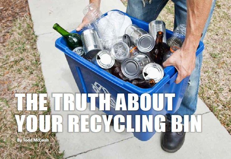 Audubon Society of Rhode Island The Truth About Your Recycling Bin Todd McLeish