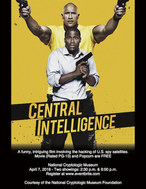 """<b>Movie Day at the Museum Featuring """"Central Intelligence""""</b>"""
