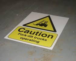 Safety Floor Decals