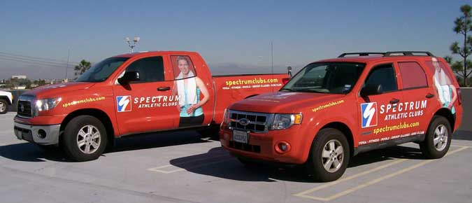 Spectrum Truck Wrap
