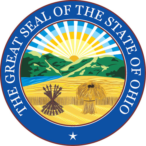 W32400 -  Seal of the State of Ohio Wall Plaque