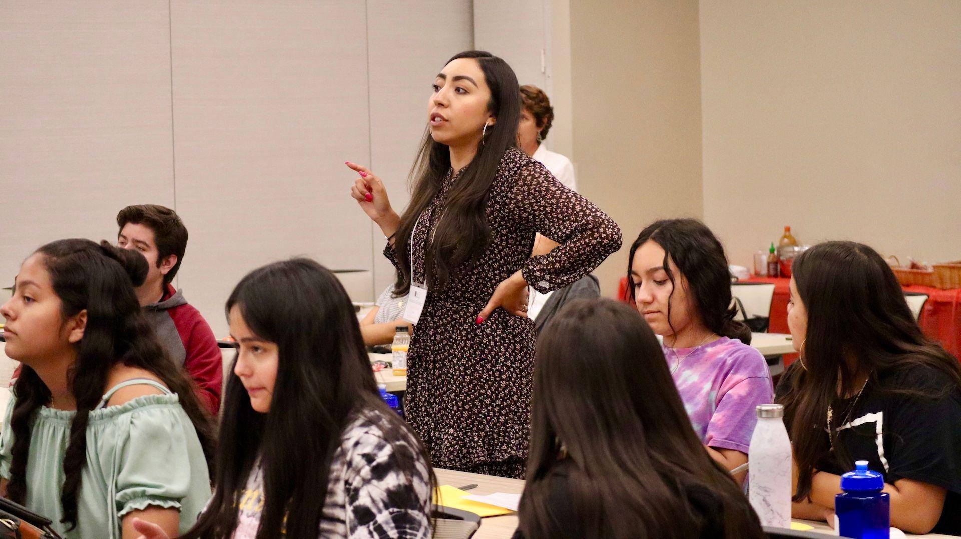 November Teacher Spotlight - Ecker Hill Middle School DLI and Spanish Teacher & Bright Futures Coordinator Rebeca Gonzalez