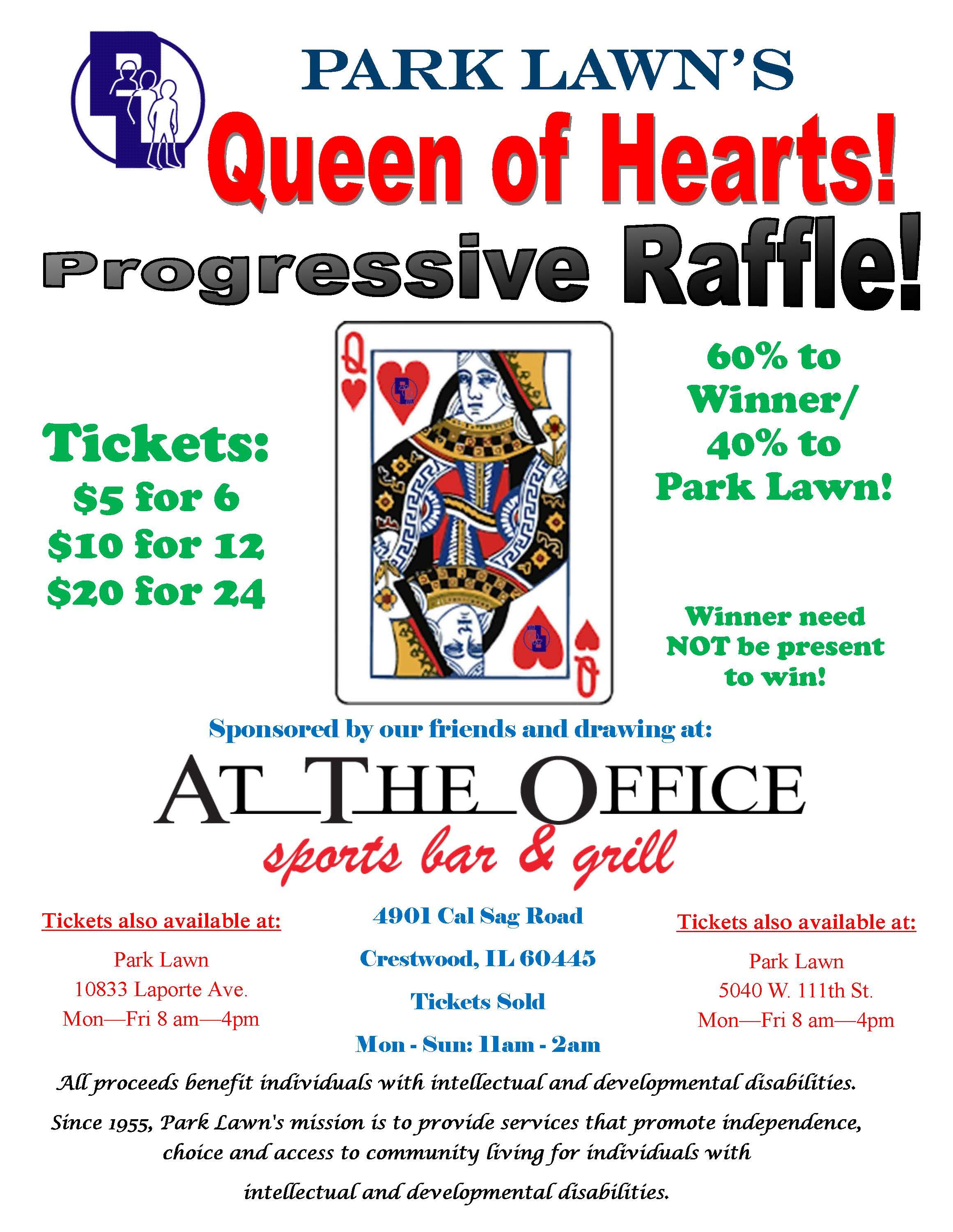 Queen of Hearts Raffle