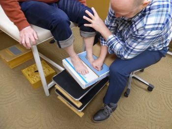 Dave is our go to guy if you need impressions for foot orthotics