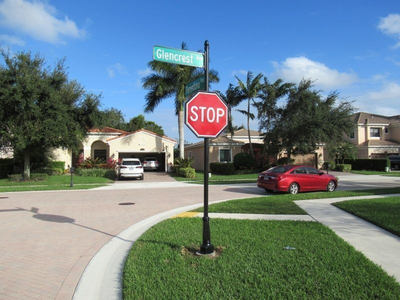 Community Signs - Decorative Street Signs by Sign Partners in Boca Raton, FL
