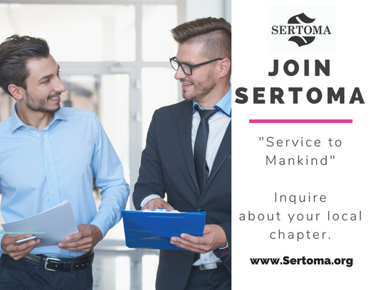 TEAM UP WITH YOUR LOCAL SERTOMA