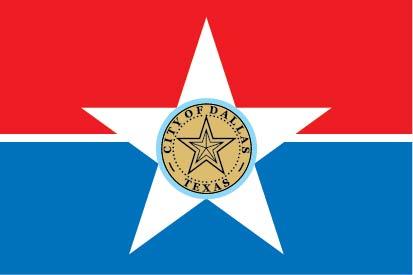 X33066 - The Flag of Dallas, Texas