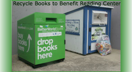 Donate Used Books and Benefit the Adult Reading Center