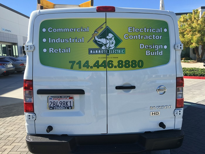 Fleet Vehicle Graphics Anaheim CA