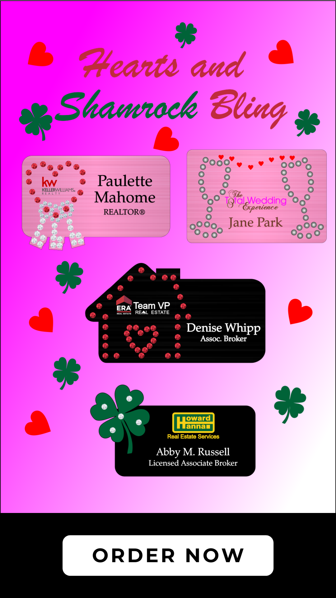 valentine and shamrock