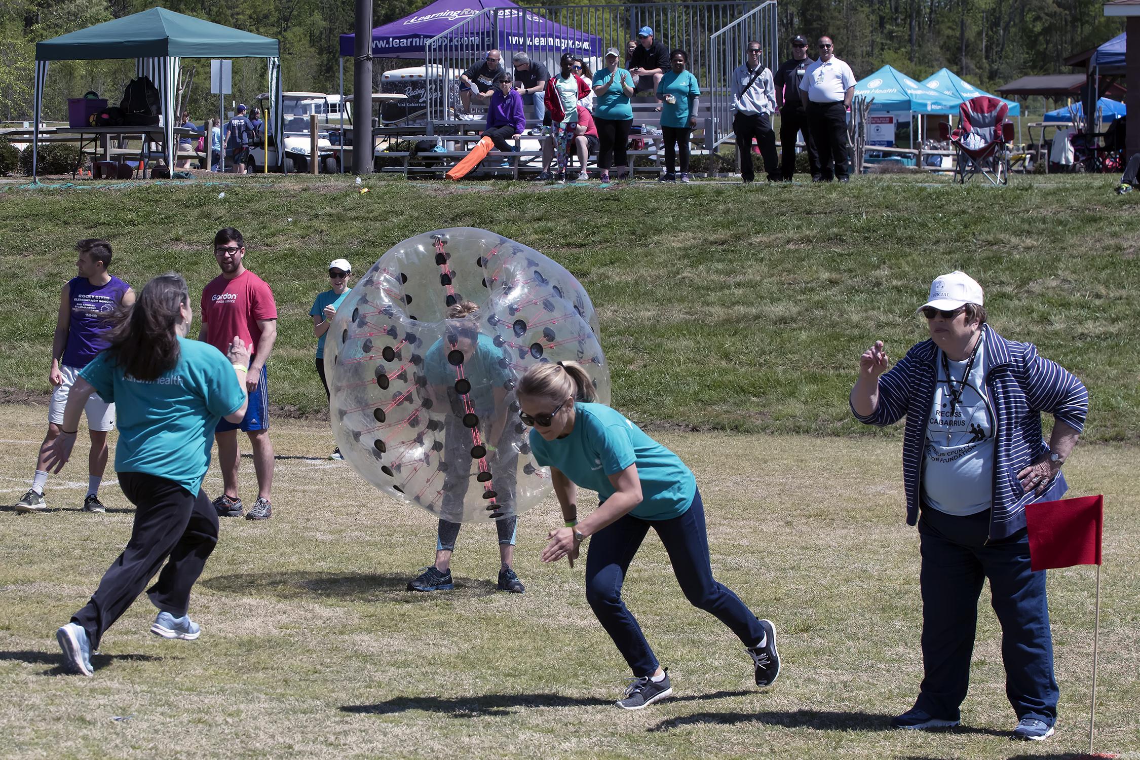 Bubble Battle Relay