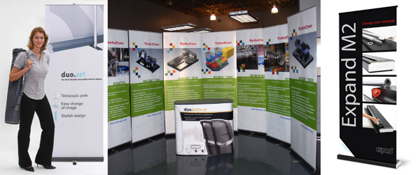 Retractable Banner Stands and Banners