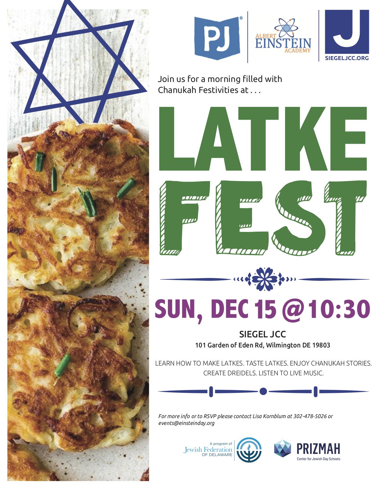 Latke Fest