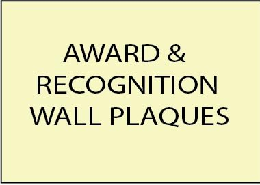 E14700 - Award and Recognition Golf Club Wooden Wall Plaques