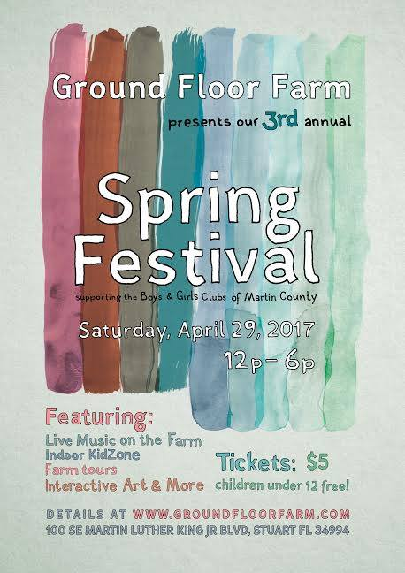 Ground Floor Farm Spring Festival