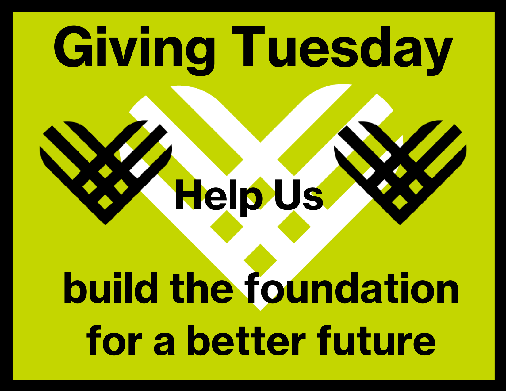 Giving Tuesday 12/1/2020