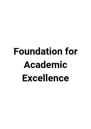 Foundation for Academic Excellence