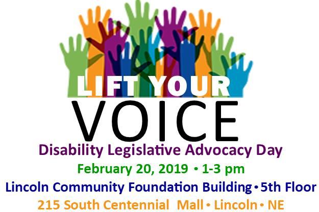 Lift your Voice! Disability Legislative Advocacy Day