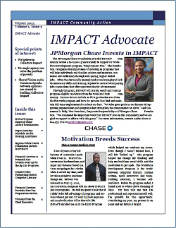 IMPACT Advocate~Winter 2013