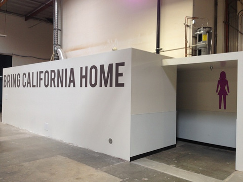 Interior signs for businesses relocating to Orange County