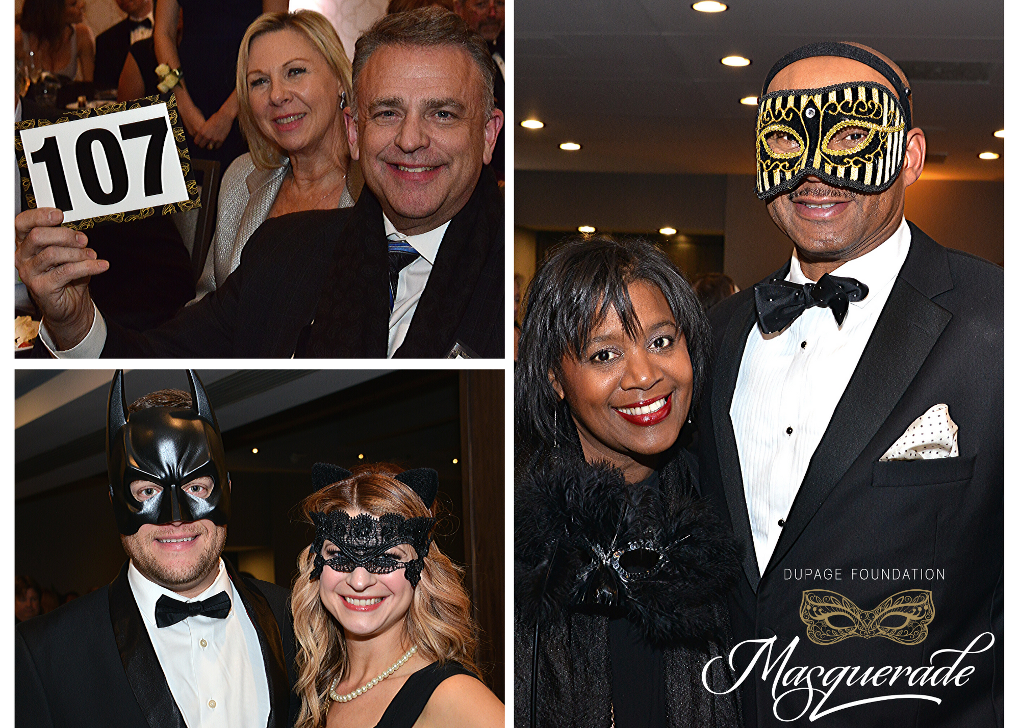 DuPage Foundation Masquerade Benefit Raises Nearly $385,000 While Unmasking Local Areas of Need