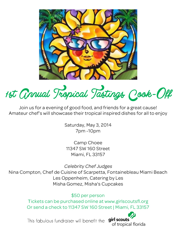 1st Annual Tropical Tastings Cook-Off