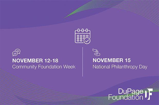 November 12-18 is Community Foundation Week