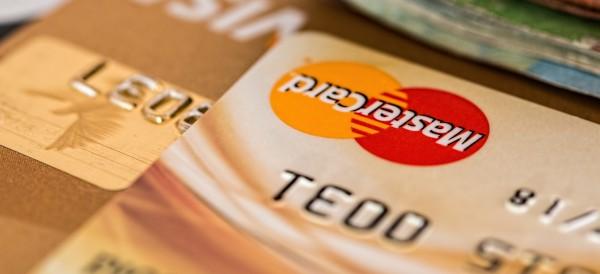 Close up photo of a MasterCard