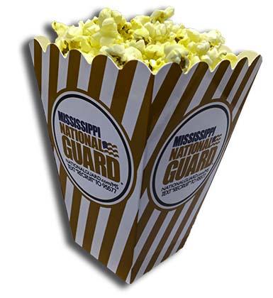 Mississippi National Guard Popcorn Box